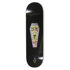 <img class='new_mark_img1' src='https://img.shop-pro.jp/img/new/icons5.gif' style='border:none;display:inline;margin:0px;padding:0px;width:auto;' />THEORIES Skate Coffin Skateboard Deck / 8.125 x 32 (セオリーズ スケートボード デッキ)