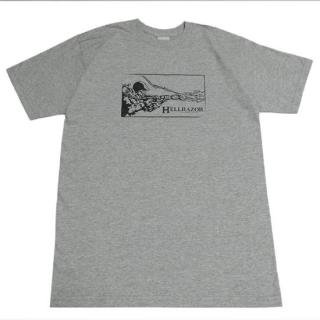 <img class='new_mark_img1' src='//img.shop-pro.jp/img/new/icons5.gif' style='border:none;display:inline;margin:0px;padding:0px;width:auto;' />【70%OFF】Hellrazor WARRIOR TEE GRAY(ヘルレイザー Tシャツ)