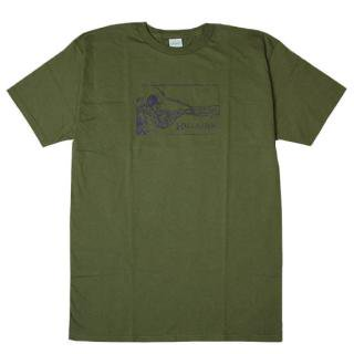 <img class='new_mark_img1' src='//img.shop-pro.jp/img/new/icons5.gif' style='border:none;display:inline;margin:0px;padding:0px;width:auto;' />【70%OFF】Hellrazor WARRIOR TEE OLIVE(ヘルレイザー Tシャツ)