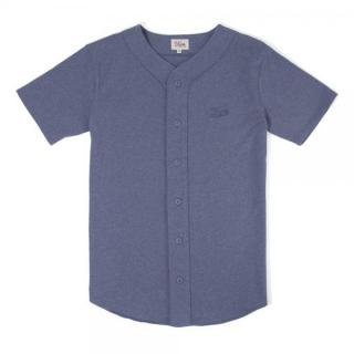 DQM COLEMAN'S BASEBALL JERSEY Heather Blue (DQM NYC/ベースボールTシャツ)