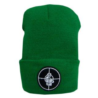 <img class='new_mark_img1' src='//img.shop-pro.jp/img/new/icons5.gif' style='border:none;display:inline;margin:0px;padding:0px;width:auto;' />Hellrazor Trigger Knit Cap Green (ヘルレイザー ニットキャップ/ビーニー)