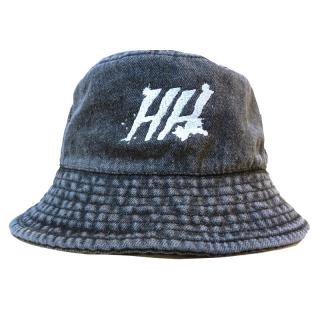 HORRIBLE'S × HELLRAZOR BUCKET HAT / BLACK DENIM (ホリブルズ バケットハット)