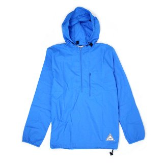 DQM EAST 18TH PACKABLE NYLON RIPSTOP WINDBREAKER JACKET / BLUE (DQM NYC/ナイロンジャケット)