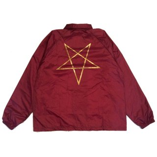 <img class='new_mark_img1' src='//img.shop-pro.jp/img/new/icons5.gif' style='border:none;display:inline;margin:0px;padding:0px;width:auto;' />THRASHER Pentagram Coach Jacket / Maroon (スラッシャー コーチジャケット)