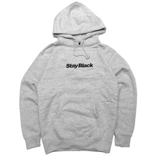 <img class='new_mark_img1' src='//img.shop-pro.jp/img/new/icons5.gif' style='border:none;display:inline;margin:0px;padding:0px;width:auto;' />STAY BLACK ORIGINAL LOGO HOODIE / GREY (ステイブラック フーディ/スウェットパーカー)