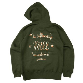 <img class='new_mark_img1' src='//img.shop-pro.jp/img/new/icons5.gif' style='border:none;display:inline;margin:0px;padding:0px;width:auto;' />WILL CS LOGO PULLOVER HOODIE / OLIVE (ウィル パーカー)
