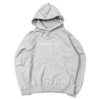 <img class='new_mark_img1' src='//img.shop-pro.jp/img/new/icons58.gif' style='border:none;display:inline;margin:0px;padding:0px;width:auto;' />DAY LIQUOR STORE LOGO HOODIE / HEATHER GREY (デイリカーストアー Tシャツ)