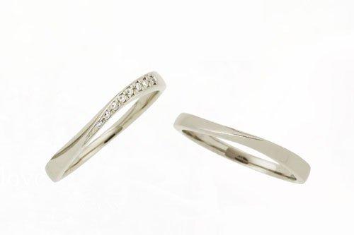 プルーヴE K10シャンパンゴールド 2万円台 結婚指輪 Preuve(プルーヴ)