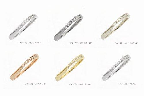 プルーヴE カラーゴールド一覧 結婚指輪 Preuve(プルーヴ)