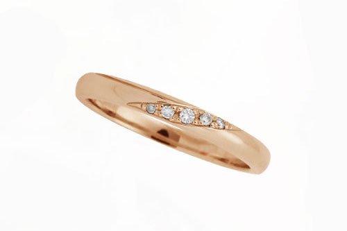 結婚指輪 プルーヴF K10ピンクゴールド 3万円台