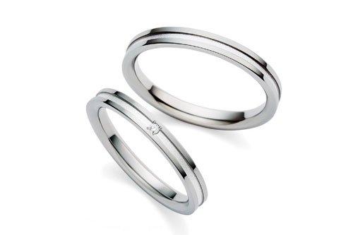 結婚指輪 itumo チタンプラチナ900 3万円台
