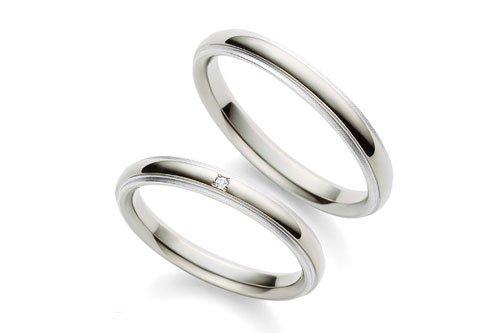 結婚指輪 チタンプラチナ 4万円台