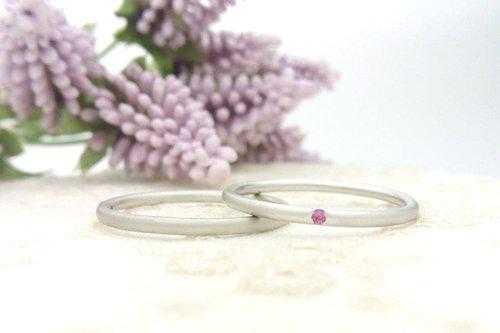 タイニーリング プラチナ 結婚指輪 2万円台