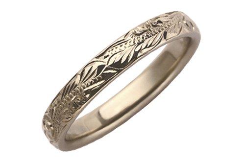 ハワイアン鍛造指輪 3mm幅