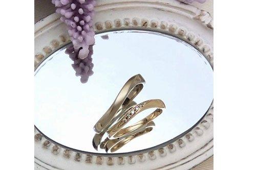 プルーヴA K10シャンパンゴールド 結婚指輪 ペアイメージ