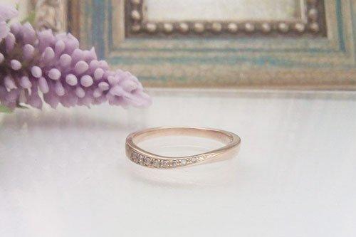プルーヴE K10ピンクゴールド 2万円台 結婚指輪 Preuve(プルーヴ)