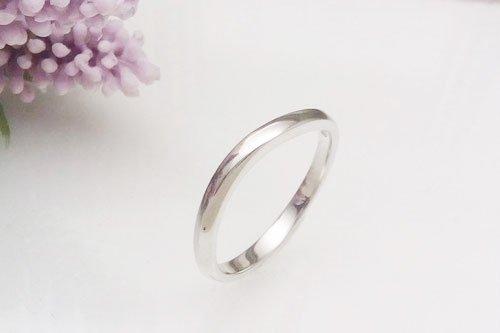 プルーヴC K10ホワイトゴールド 2~3万円台 結婚指輪 Preuve(プルーヴ)