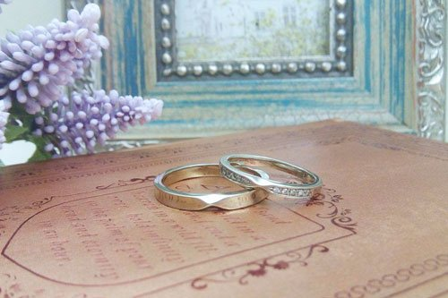 プルーヴB K10シャンパンゴールド 結婚指輪 Preuve(プルーヴ)