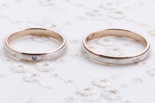 永遠の幸せ ローズマリッジ 結婚指輪プチマリエ