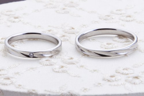 結婚指輪 5万円台 シンプル