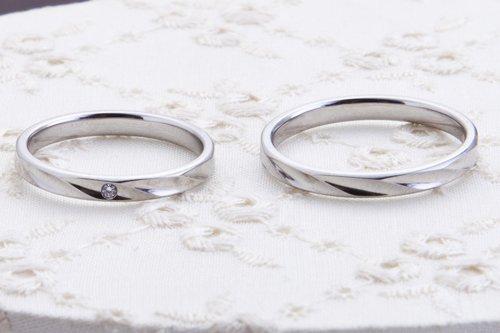 結婚指輪 5万円台 プラチナ585