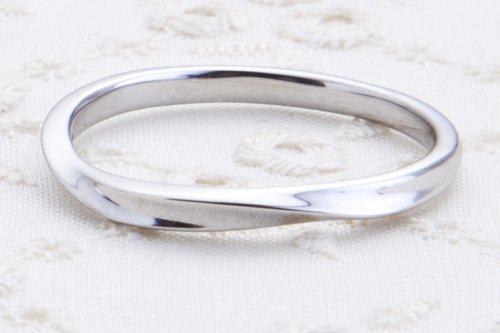 結婚指輪 K18ホワイトゴールド 4万円台