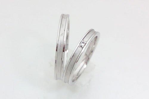 結婚指輪 プラチナ585 4万円台