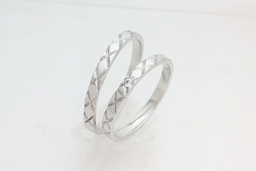 結婚指輪 リアン K10ホワイトゴールド 2万円台