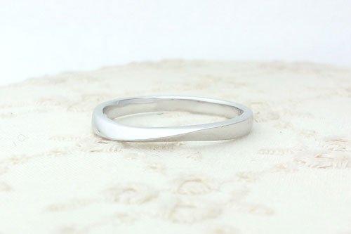 プルーヴE K10ホワイトゴールド 2万円台 結婚指輪 Preuve(プルーヴ)