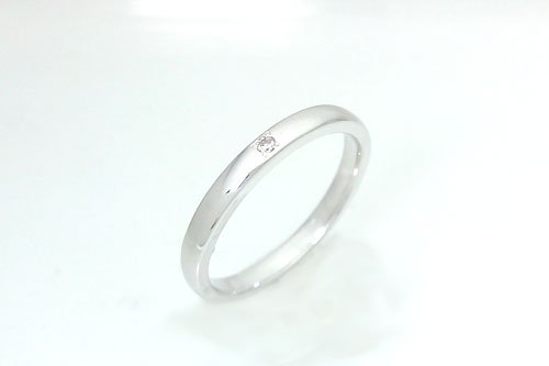 結婚指輪 プルーヴ K10ホワイトゴールド 2万円台