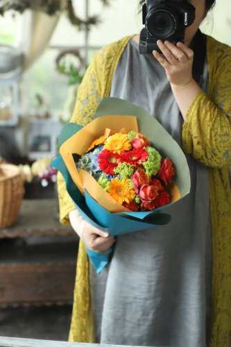 季節のおまかせ花束(7.700円)