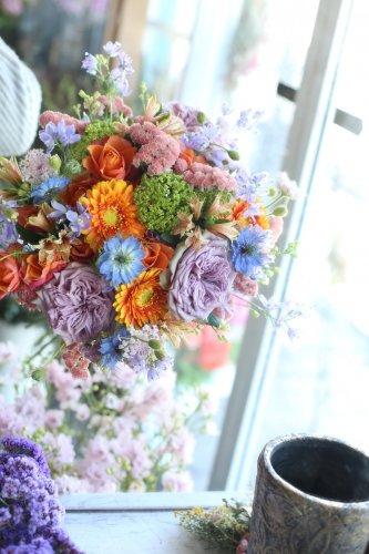 季節のおまかせ花束(8.800円)
