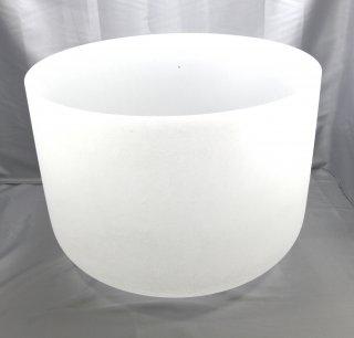 440hz 絶対音 フロステッドクリスタルボウル  純粋純白なクリスタルボウル