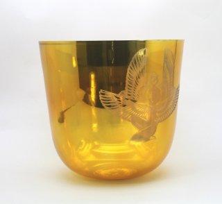 528HZ 女神イシス彫刻チタニウムゴールド5インチC