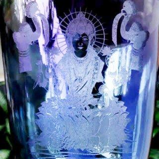 絶対音 女神 ラクシュミー彫刻 ギャラクシーインディゴブルー