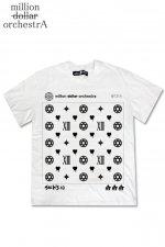 FAKESTA BIGT【hell monogram】(WHITE)