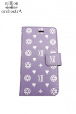 hell monogram I phone case(PURPLE)(6/6S)