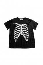 BROKEN BONE BIG TEE(BLACK)