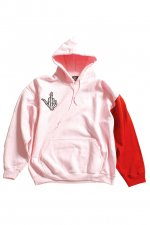 CHIMERA HOODIE(PINK × ANTIQUE RED)