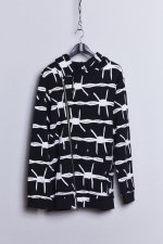 BARBED WIRE RIDERS PARKA(BLACK)