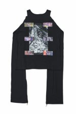 1 2 3 for hype sex heaven PUNK CUTSEW(BLACK)