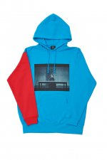 ANIMATION CHIMERA HOODIE(TURQUOISE)
