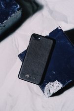 Lucifer arrow PU leather i phone case(BLACK)