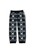 million dollar orchestra pattern pants(BLACK/WHITE)