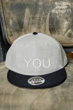 fate CAP(BLACK/GREY)
