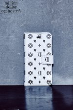 hell monogram I phone case(WHITE)(6/6S)