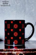 hell monogram mag (BLACK/RED)