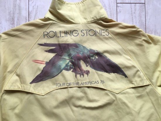 Rolling Stones tour of the america '75 ツアージャケット