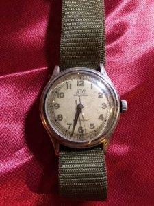 1940s ミリタリーウォッチ風腕時計・S&C