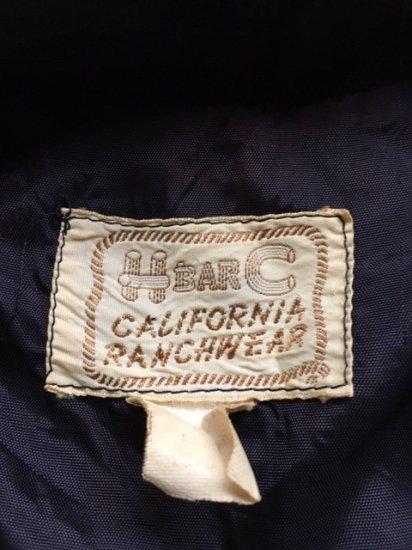 1950s HbarC ウエスタンギャバ